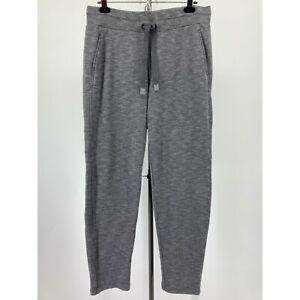 Athelta Womens Pants Post Om Jogger Gray Pockets Drawstring Size Medium