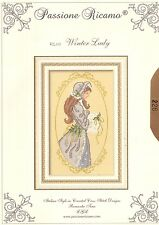 """Passione Ricamo """"Winter Lady"""" Chart Pack"""