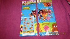 MOSHI MONSTERS wipe clean party table cloth / table cover, re-usable 138 x183 cm