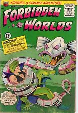 Forbidden Worlds #131 - Magicman Fights Sea Monster - 1965 (4.0) WH