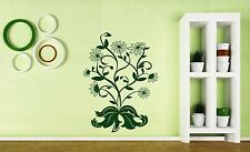 Wall Sticker Vinyl Decal Bush Camomiles Beautiful Bouquet of Flowers (n391)