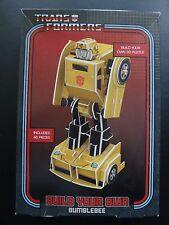 Transformers TEMPERAMATITE modello Bumblebee 3D Puzzle Non Aperto Nuovo di zecca in scatola
