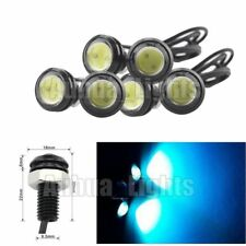 6 Pcs Ice Blue Eagle Eye COB LED Daytime Running DRL Tail/Head Light Backup 12V
