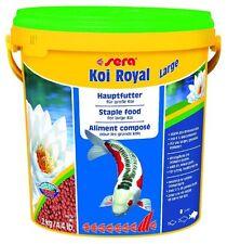 Sera KOI Royal large - Hauptfutter für Koi - 10 Liter Eimer