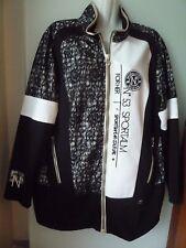 Sportalm Kitzbühel  Luxus Jacke schwarz-weiß Gr 42 NEU