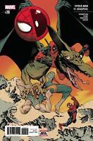 Spider-Man vs Deadpool #38 MARVEL COMICS COVER A Dave Johnson