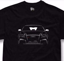 T-shirt for audi a3 rs3 fans turbo quattro 1.8T 2.0T tshirt