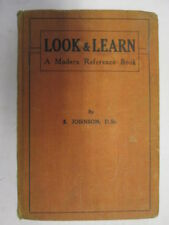 Good - Look & Learn: A Modern Reference Book - Johnson, S 1947-01-01 1946 impres