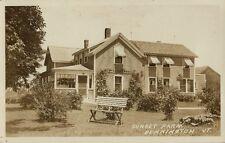 Old Real Photo Postcard  - Sunset Farm Bennington VT