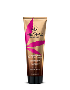 Hempz Hypoallergenic Dark Instant Colour Natural Soothing DHA Tan Bronzer 265ml