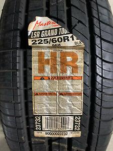 1 New 225 60 15 Mastercraft LSR Grand Touring Tire