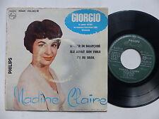 NADINE CLAIRE Giorgio EUROVISION 1958    432283 BE