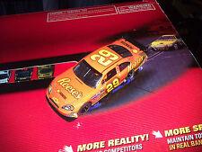 SCX analog but digital upgradeable NASCAR Kevin Harvick REESES