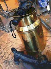 Regenschirm Eimer. Aus 60er. Messing. Umbrella bucket.  Mid century brass. 60s