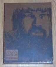 The Revenant (blu-ray) Steelbook - Manta Lab (Leather Fullslip). NEW & SEALED
