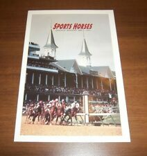 SC 2756 - 2759 2759a SPORTS HORSES FIRST DAY CEREMONY PROGRAM 1993