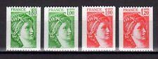 FRANCE FRANCIA 1977-8 Sabine de la Roulettes MNH**