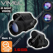 Night Vision Monocular Digital Camera 16GB Hunting Binocular Security Recorde