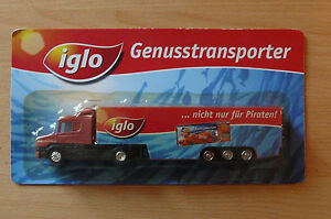 Model Truck Beer Truck Scania 124L 400 Iglo Hs 11