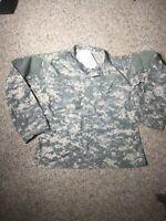 ARMY ECWCS GEN III Soft Shell Camo Jacket ACU UCP medium M