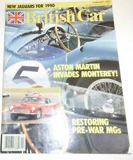 British Car Magazine Aston Martin Invades Monterey February 1990 080814R