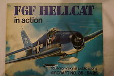 WW2 USN USMC F6F Hellcat Aircraft In Action Squadron Signal Reference Book