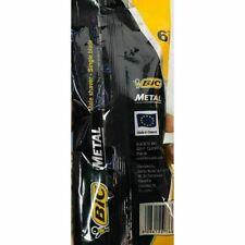 2 pack 12 pcs BIC METAL Disposable razor blades Metal bar