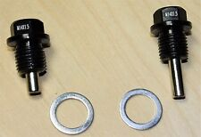New Magnetic Oil &Transmission Drain Plugs Set Honda Acura B16 B18 B20 H22 D16