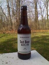 Budweiser Beer Bottle Bud Anheuser Busch Test MXTL FW W Original Cap Rare
