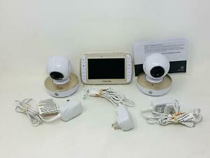 Motorola MBP50-G2, 5 Inch Portable Video Monitor and 2 Cameras
