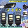100/200/300COB LED LAMPIONE STRADALE PANNELLO SOLARE TELECOMANDO CREPUSCOLARE !