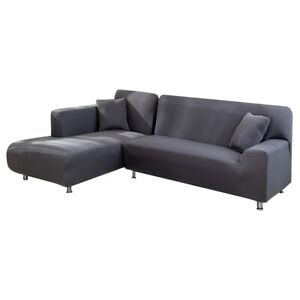 Stretch L-Shaped Sofa Slipcovers Sectional Couch Corner L Sofa Covers Home Decor