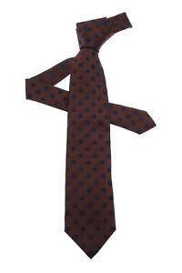 Cravate Borrelli Brown 100% Soie