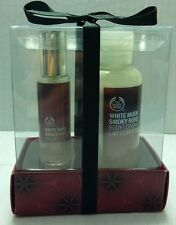 THE BODY SHOP WHITE MUSK SMOKY ROSE TRAVEL SET EAU DE TOILETTE 0.33 OZ. & LOTION