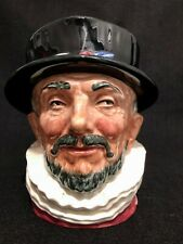 New ListingRoyal Doulton 'Beefeater' D6206 1946 Large Toby Character Jug - Rare 'Gr' Cypher