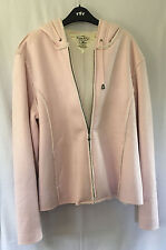 Tommy Hilfiger Ladies Pink Zipped Hooded Jacket, size XL (16+)
