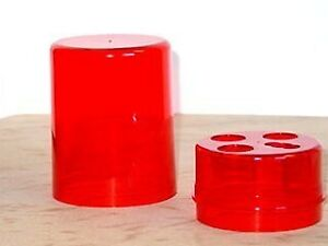 Lee Precision 3 Die Box Round/Red 90535 Reloading Accessory