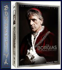 THE BORGIAS - COMPLETE SEASONS 1 & 2  ***BRAND NEW DVD BOXSET ***