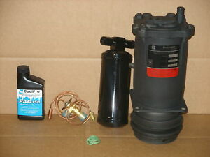AC COMPRESSOR KIT FITS 1962-1976 CHEVY, BUICK, CADILLAC