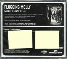 FLOGGING MOLLY Saints & Sinners  USA 2010 PROMO Radio DJ CD Single SEALED and
