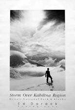 Mountaineering: Climbing, Ed Darack McKinley Denali Poster, Signed, New, Rolled