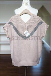 Brunello Cucinelli Cashmere Sweater Vest Monili Size M