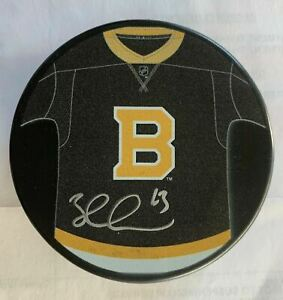Brad Marchand Boston Bruins Signed Autographed LE 2019-20 Alternate Jersey Puck