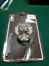 Solid Polished Brass Door lion  Knocker  Main Front Porch