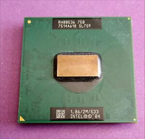 Processeur CPU Intel Pentium M 750 SL7S9 1.86/2M/533 Socket 478C