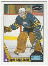1987-88 OPC HOCKEY #78 TOM BARRASSO - EXCELLENT-