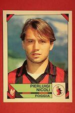Panini Calciatori 1993/94 1993 1994 n. 63 FOGGIA NICOLI DA EDICOLA !