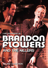 THE KILLERS & BRANDON FLOWERS Sealed 2017 COMPLETE HISTORY & BIOGRAPHY 2 DVD SET