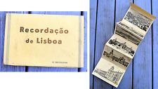 Ancien carnet de cartes postales, recordaçao de Lisboa, Lisbonne , 10 cartes N&B