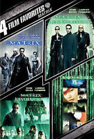 4 Film Favorite - The Matrix Collection [4 Disc WS DVD] Used Like New Ships Free